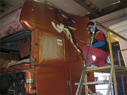 Aerografie veicoli industriali Torino